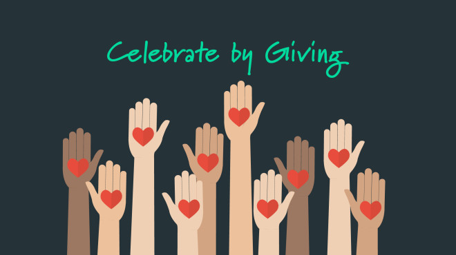 Celebrate by Giving